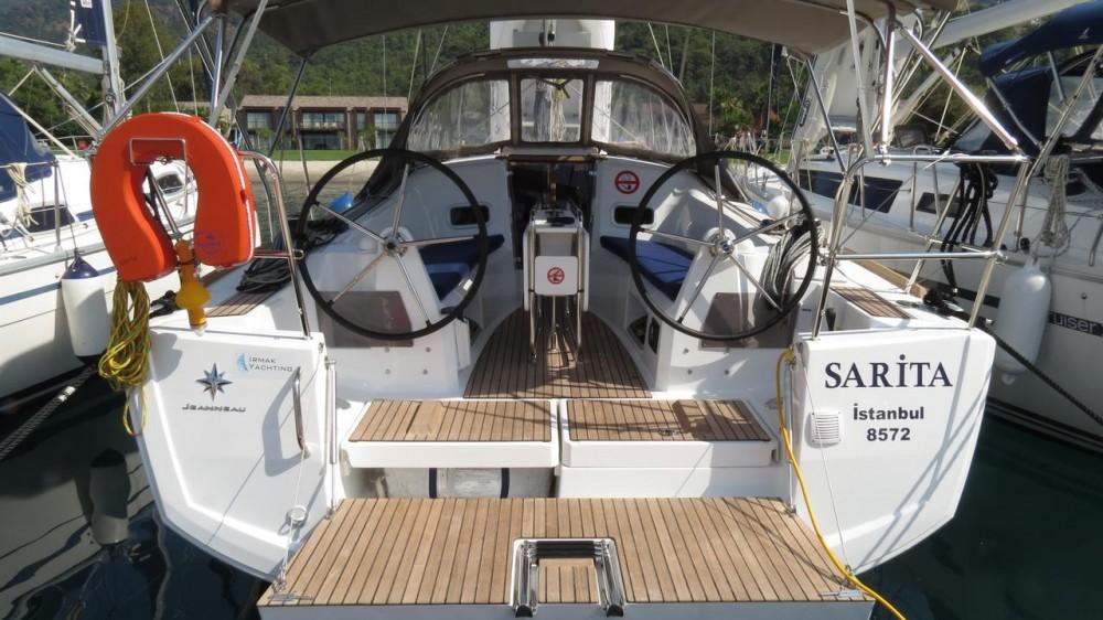 Rental Sailboat in Muğla - Jeanneau Sun Odyssey 349