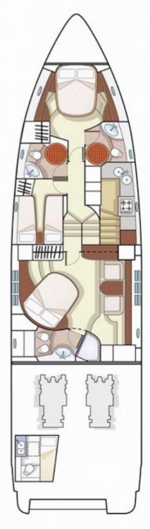 Rental yacht Split - Azimut-Benetti-Yachts Azimut 68 - 3 + 1 cab. on SamBoat