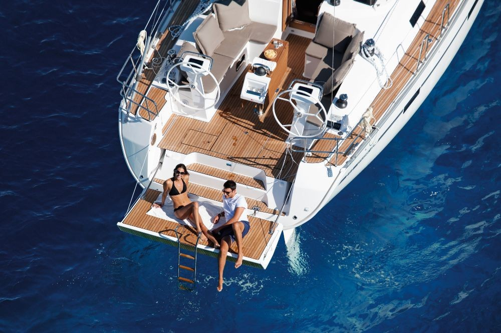 Boat rental Corfú cheap Cruiser 46