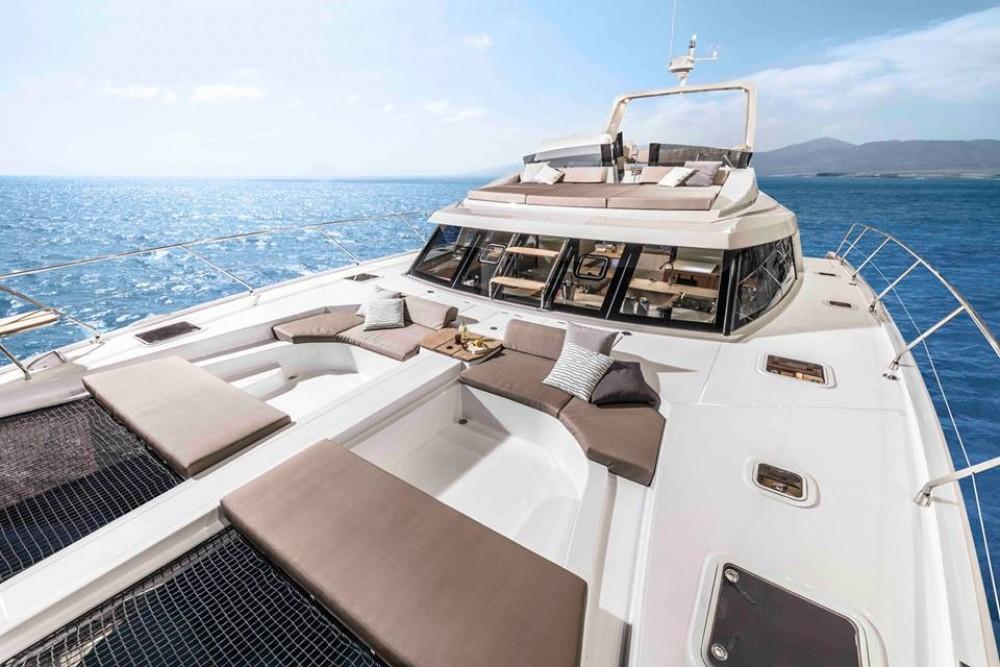 Hire Catamaran with or without skipper Bavaria Korfu