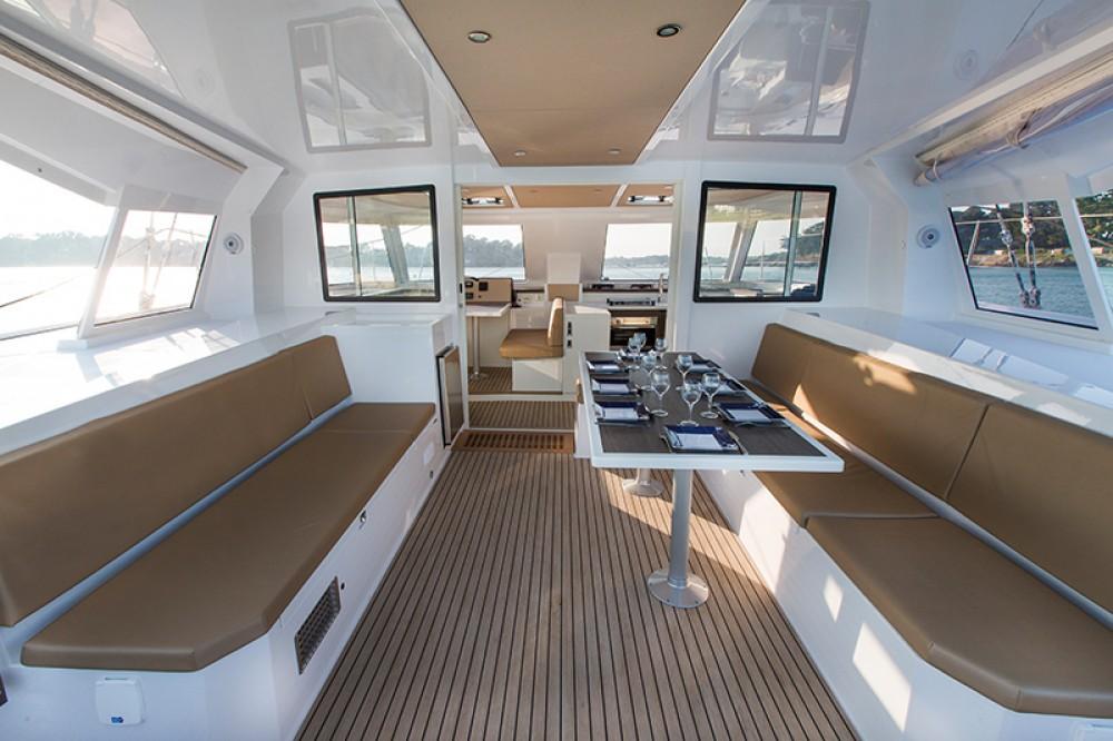 Rental Catamaran in Portocolom - Nautitech Rochefort Nautitech 40 Open - 4 cab.
