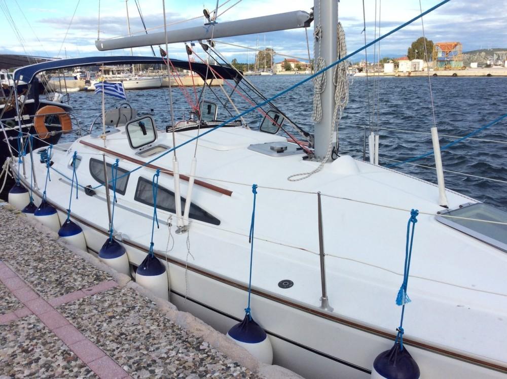 Boat rental Ionian Islands cheap Sun Odyssey 35