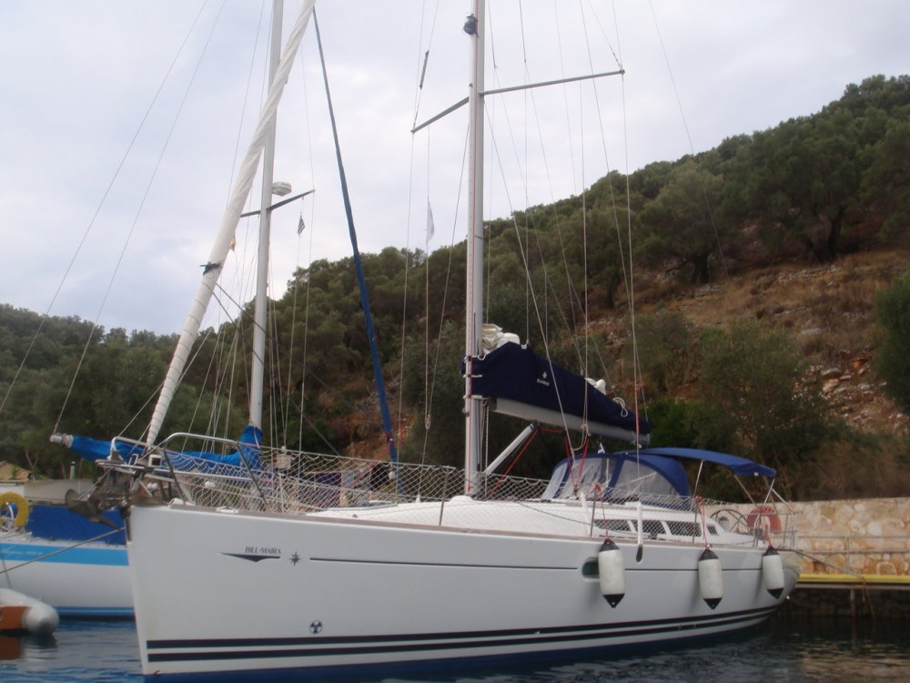 Jeanneau Sun Odyssey 42i between personal and professional Ionian Islands