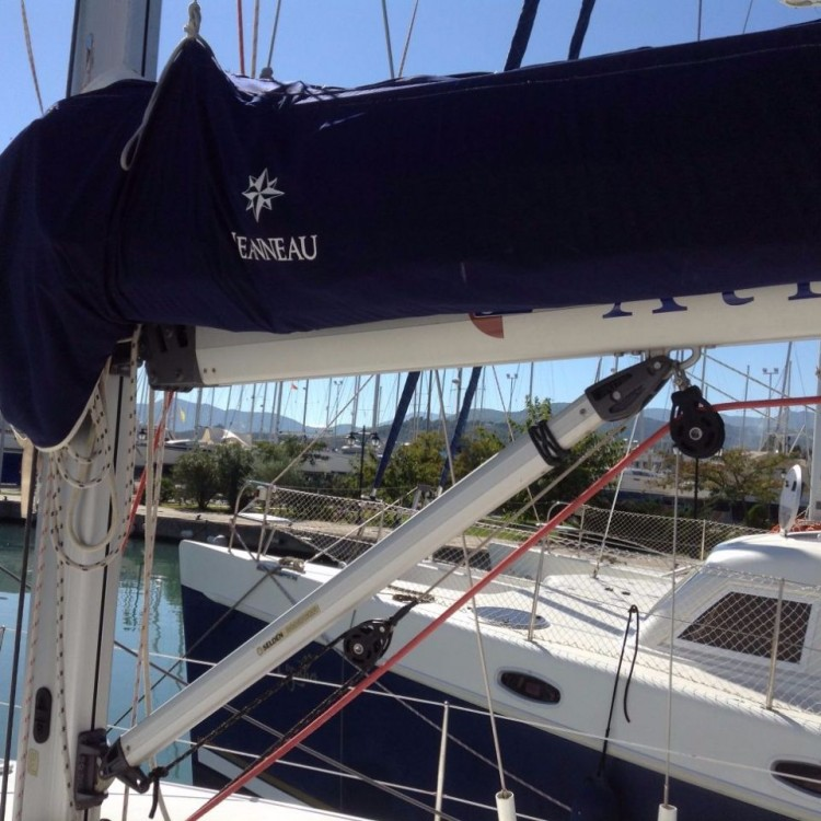 Boat rental Ionian Islands cheap Sun Odyssey 42i