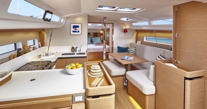 Boat rental Ionian Islands cheap Sun Odyssey 440