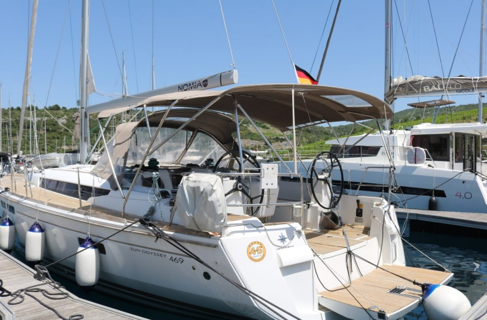 Jeanneau Sun Odyssey 469 between personal and professional Portocolom