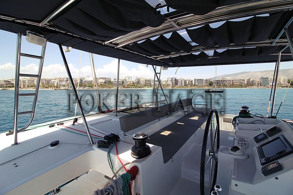 Rental Catamaran in Peloponnese - Lagoon Lagoon 450 - 4 + 2 cab.
