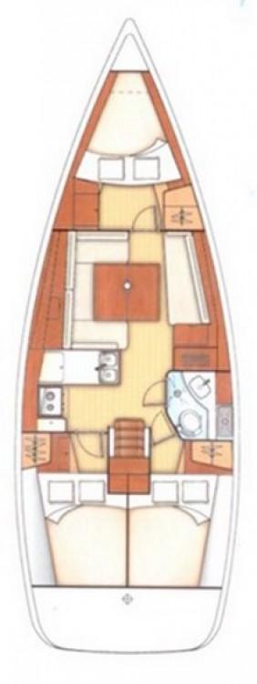 Boat rental Peloponnese cheap Oceanis 37