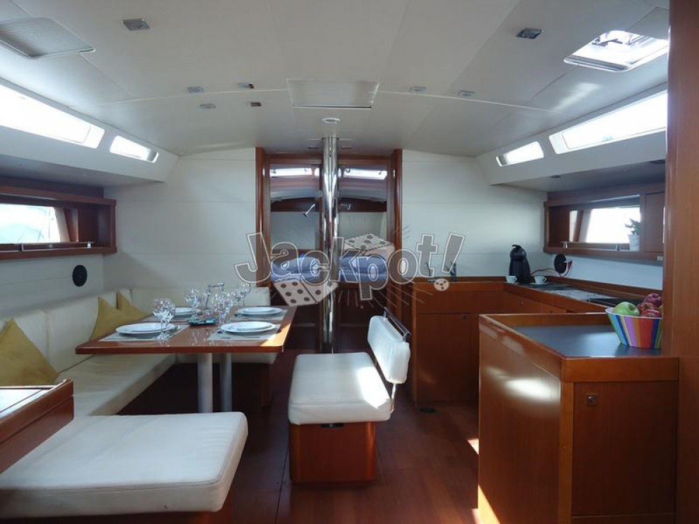 Rental Sailboat in Peloponnese - Bénéteau Oceanis 48 - 5 cab.