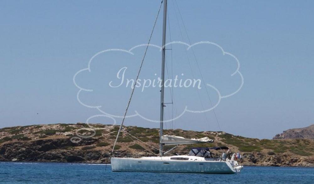 Boat rental Peloponnese cheap Oceanis 54 - 4 cab.