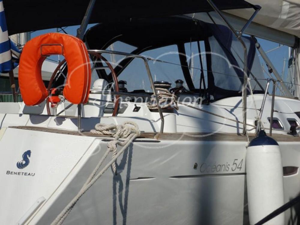 Rental Sailboat in Peloponnese - Bénéteau Oceanis 54 - 4 cab.