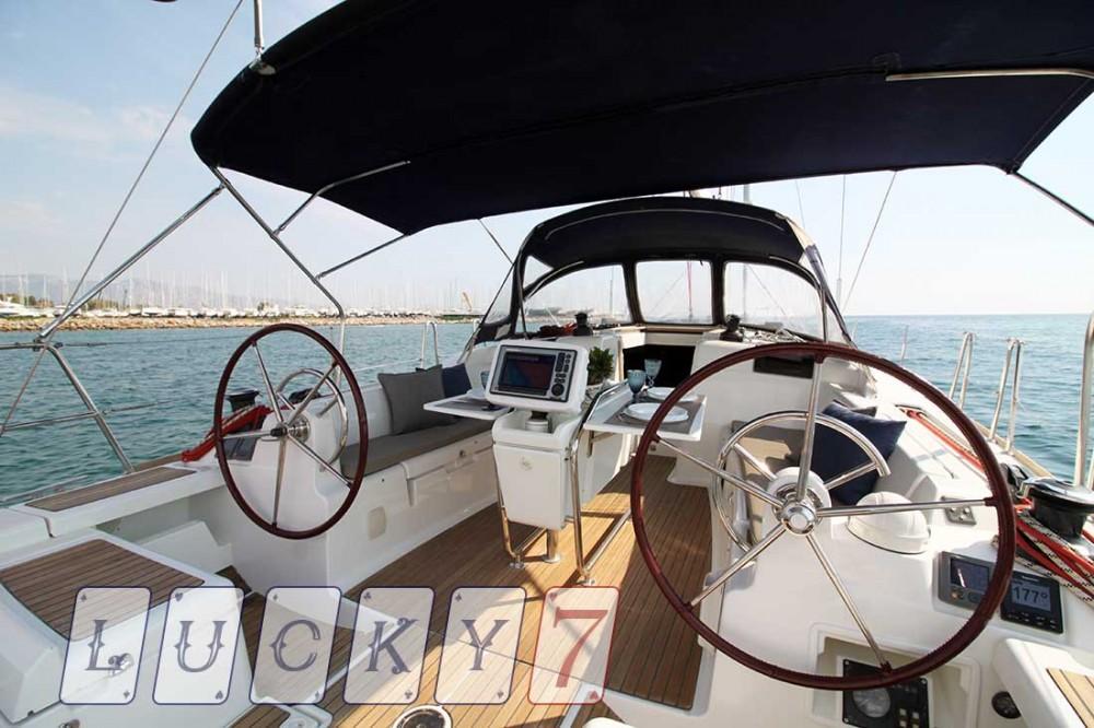 Boat rental Peloponnese cheap Sun Odyssey 439
