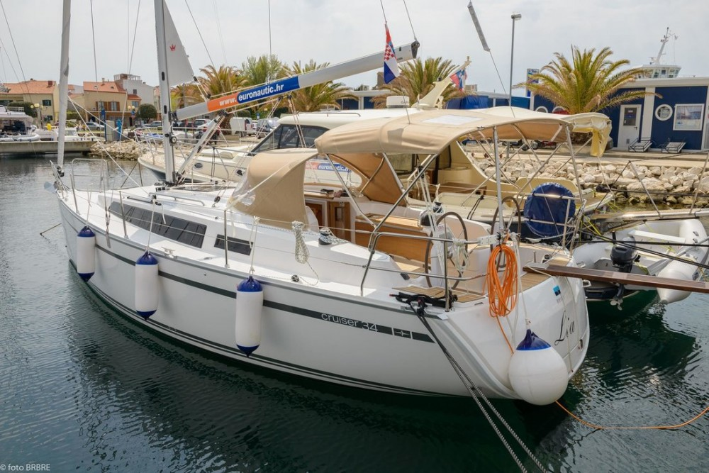 Rental Sailboat in Pirovac - Bavaria Cruiser 34