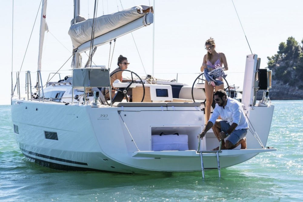 Boat rental  cheap Dufour 390 GL