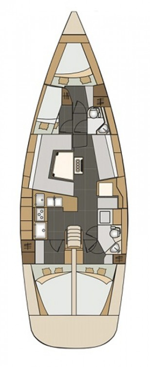 Boat rental  cheap Elan Impression 45
