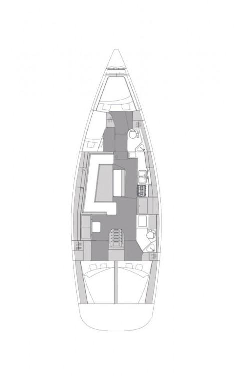 Boat rental Croatia cheap Elan Impression 45.1