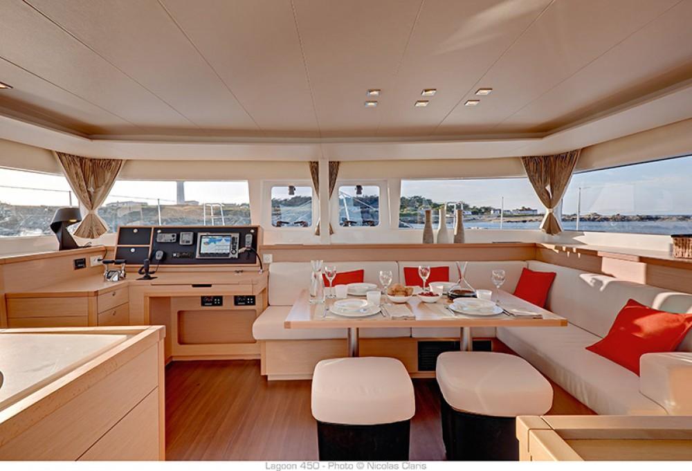 Rental yacht Pirovac - Lagoon Lagoon 450 - 4 + 2 cab. on SamBoat