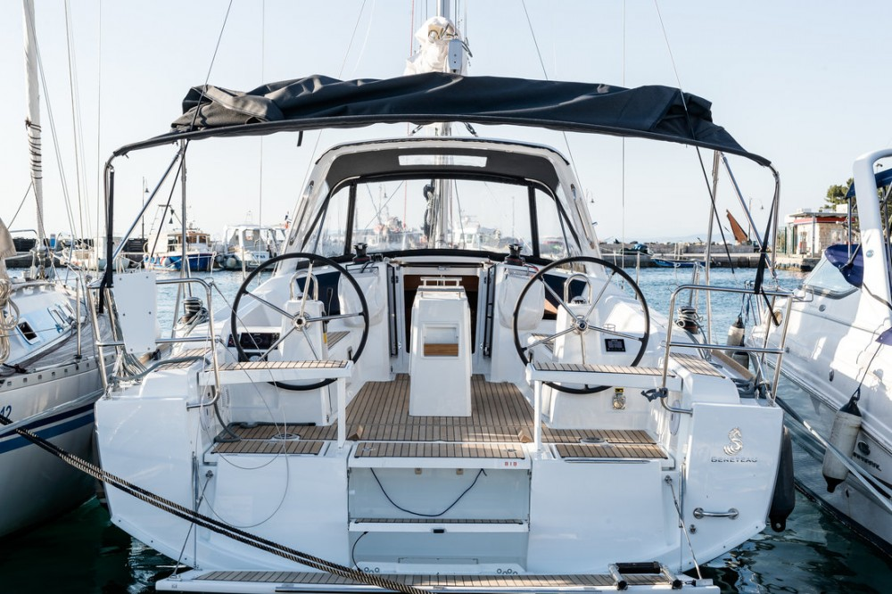 Boat rental Croatia cheap Oceanis 38.1