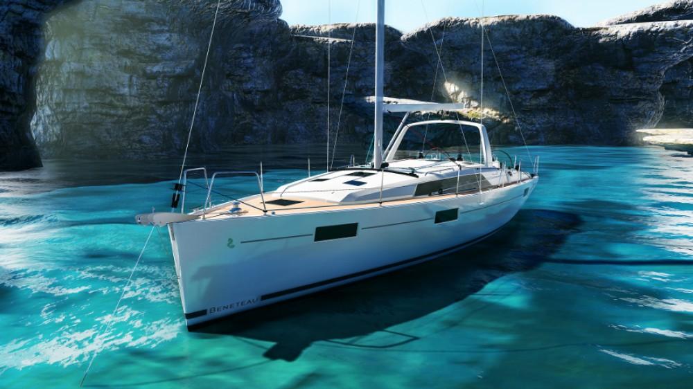 Boat rental Croatia cheap Oceanis 411
