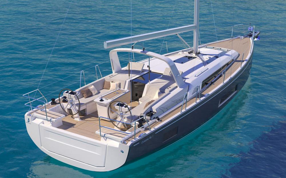 Boat rental Croatia cheap Oceanis 461