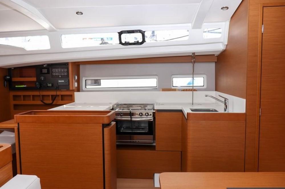 Boat rental  cheap Sun Odyssey 440 - 3 cab.