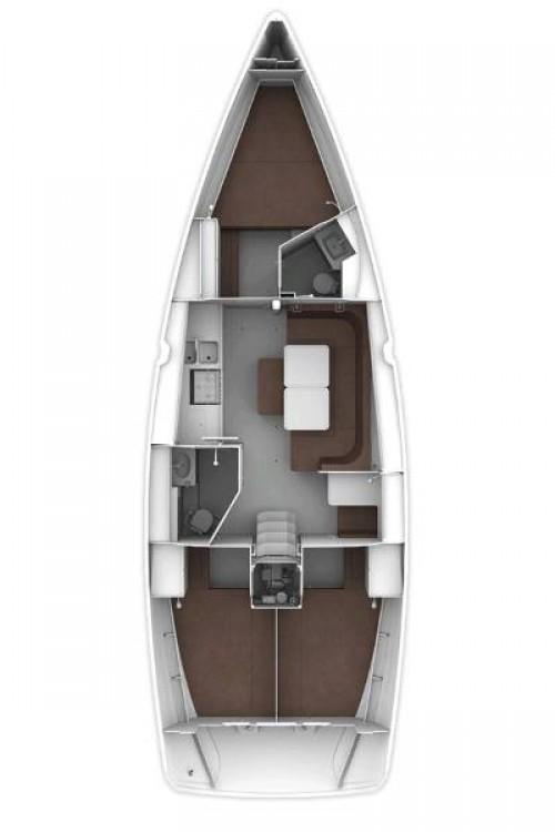 Rental Sailboat in Grad Pula - Bavaria Cruiser 41