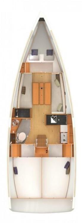Rental yacht Grad Pula - Jeanneau Sun Odyssey 349 on SamBoat