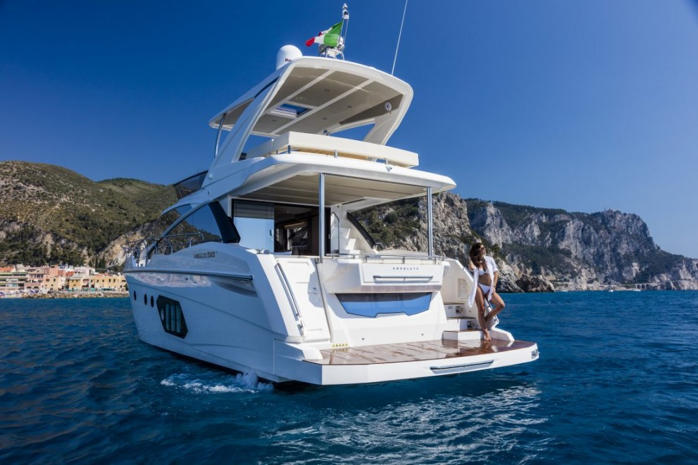 Absolute Yachts Absolute 50 Fly between personal and professional Palit