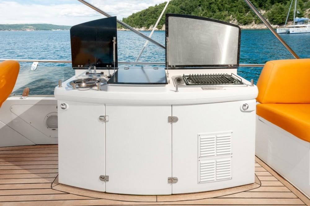 Boat rental Croatia cheap Sealine T 50