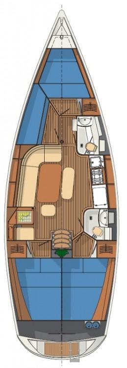 Rental Sailboat Delphia-Yachts with a permit