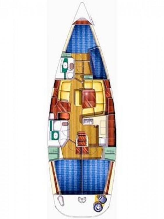 Boat rental Općina Sukošan cheap Sun Odyssey 43