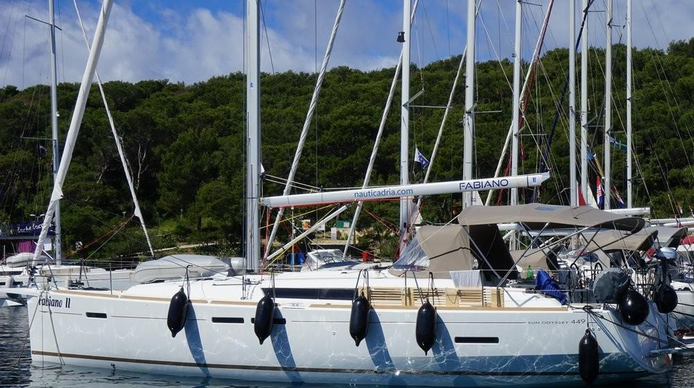 Jeanneau Sun Odyssey 449 - 3 cab. between personal and professional Croatia