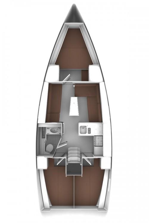 Boat rental Split cheap Bavaria Cruiser 37 - 3 cab.