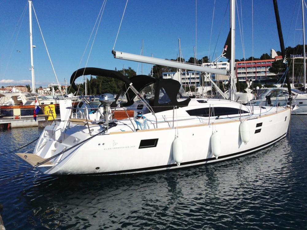 Boat rental Split cheap Elan 444 Impression