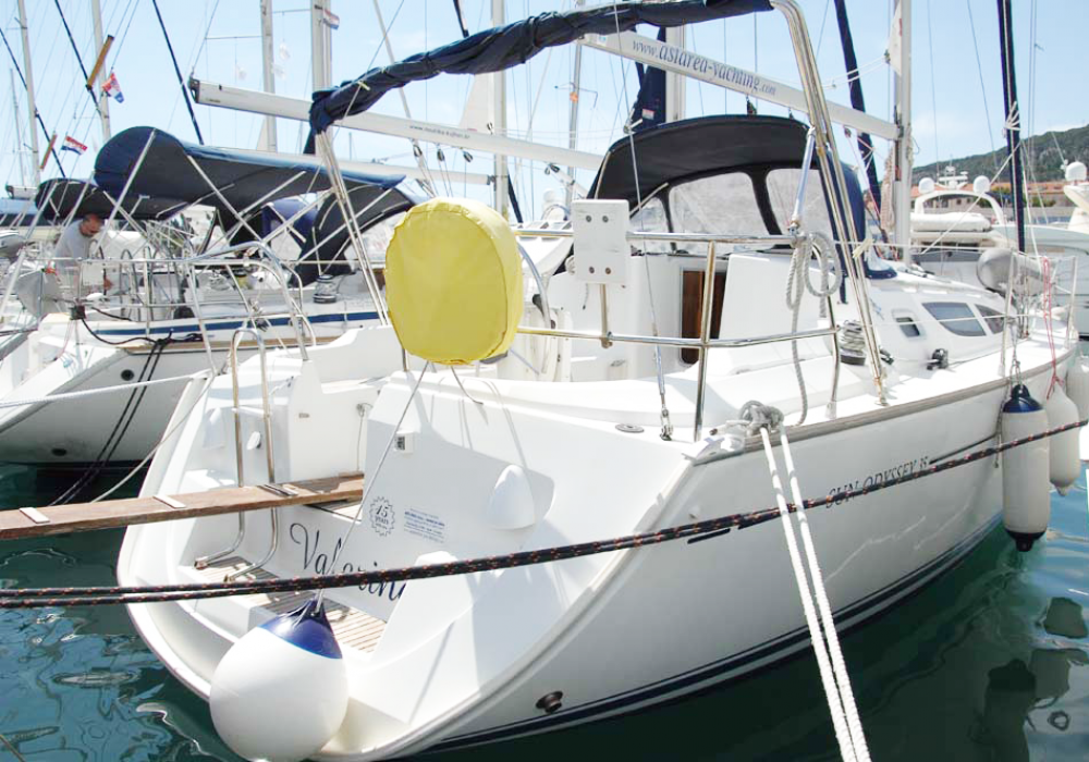 Rental yacht  - Jeanneau Sun Odyssey 35 on SamBoat