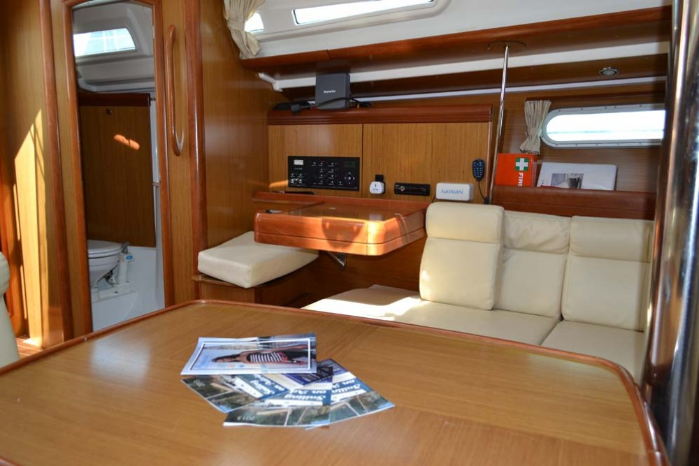 Jeanneau Sun Odyssey 42i between personal and professional Croatia