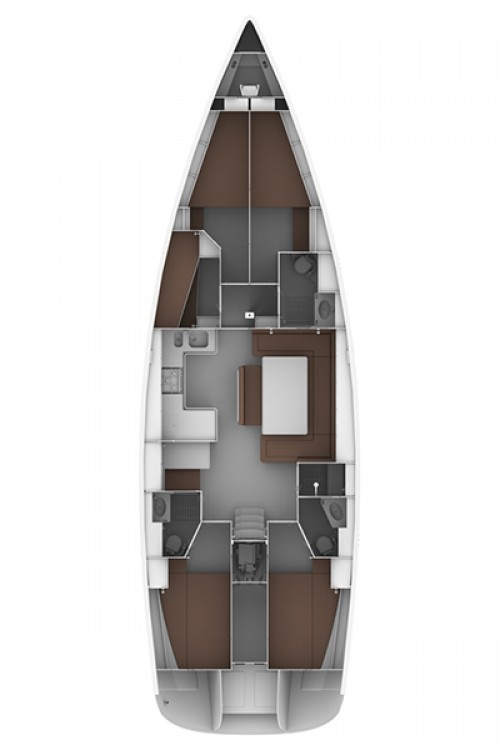 Rental yacht Playa de Palma - Bavaria Cruiser 50 on SamBoat