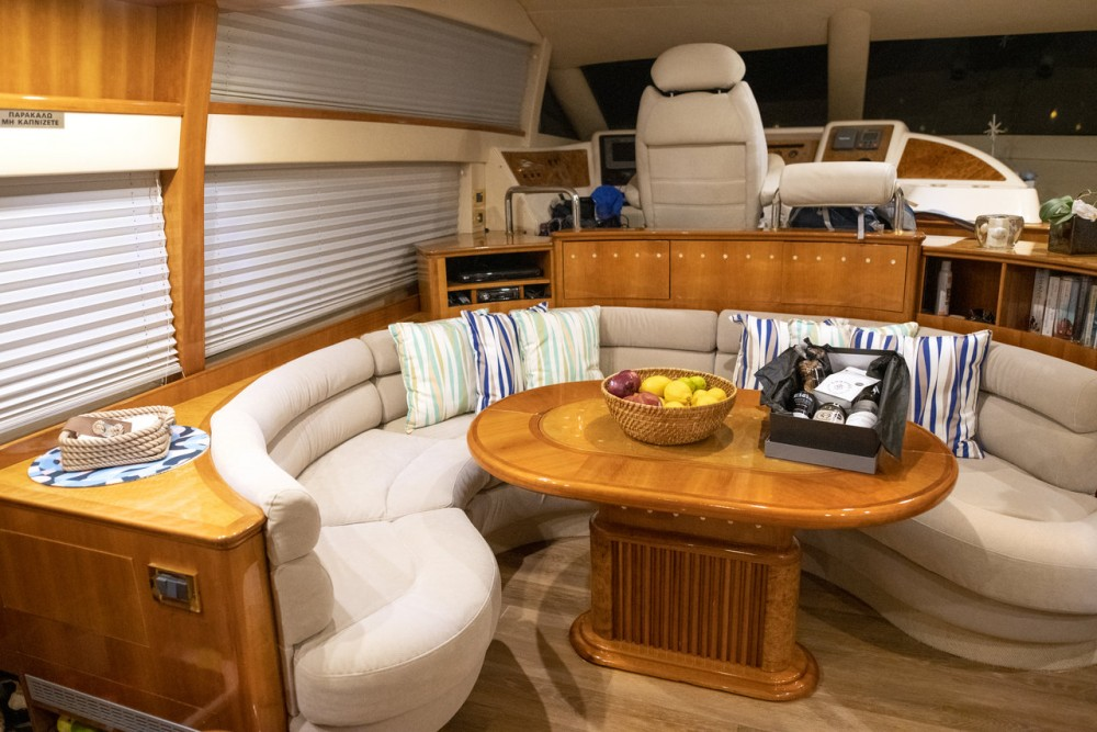 Azimut Azimut 58 between personal and professional Peloponnese