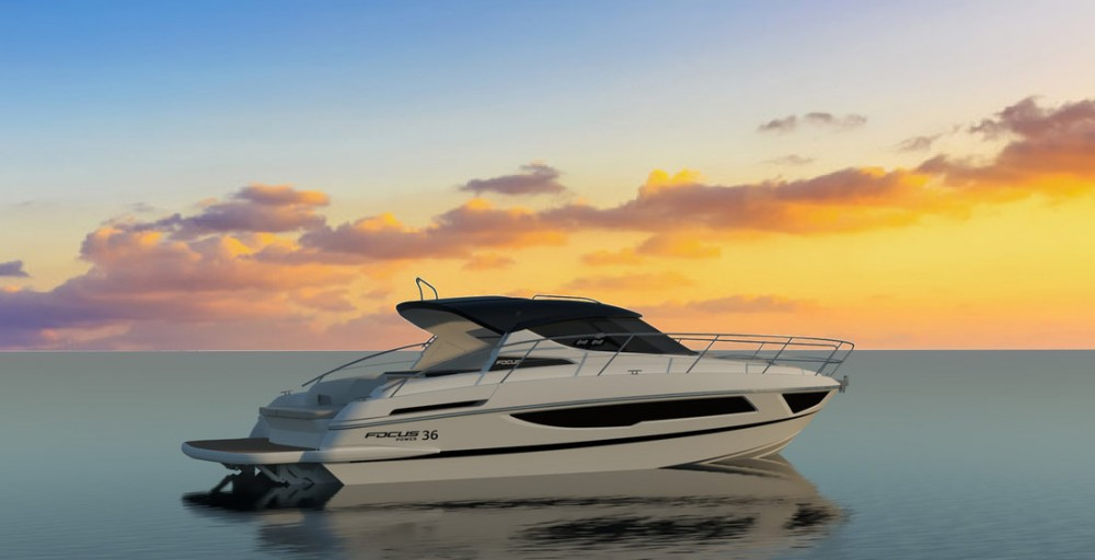 Focus Motor Yachts Focus Power 36 Hard Top between personal and professional Općina Sukošan