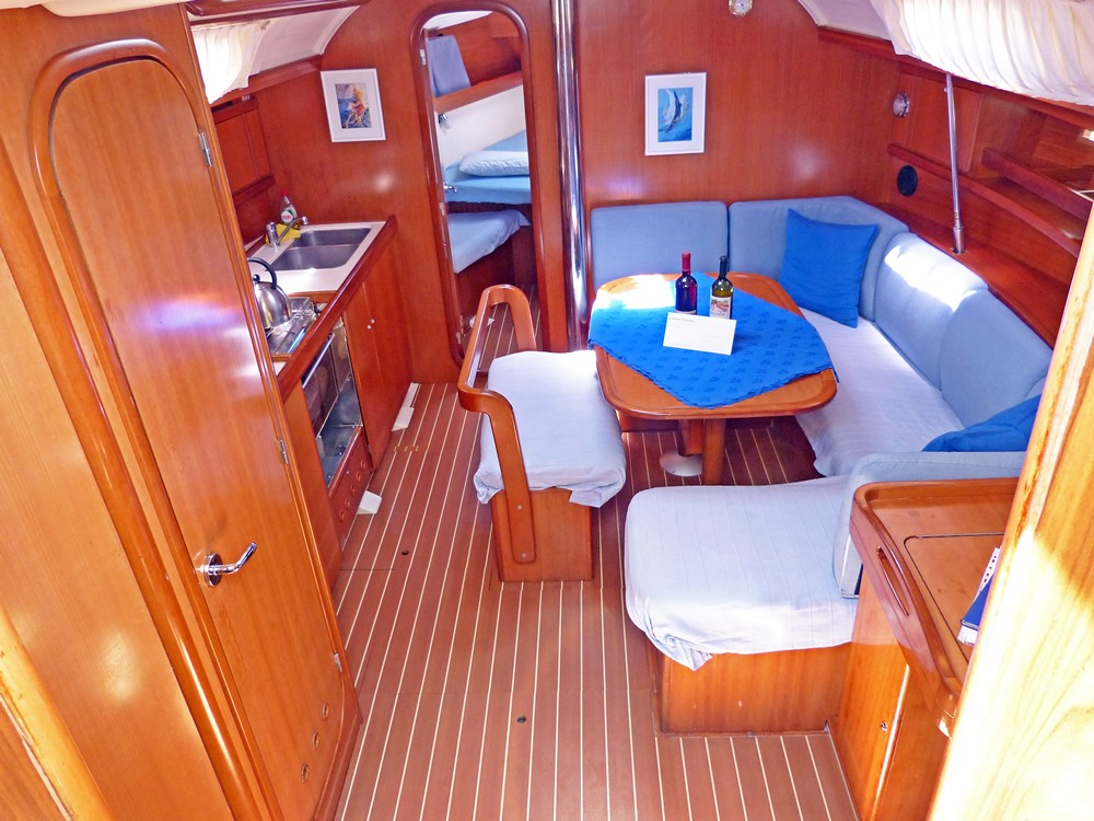 Boat rental Peloponnese cheap Dufour 385 Grand Large