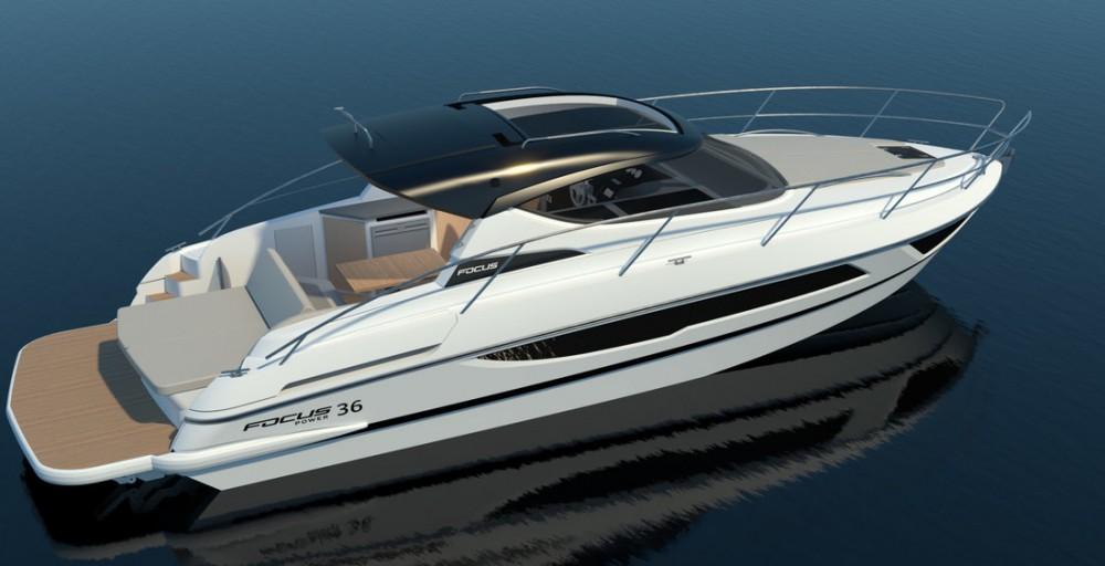 Boat rental Općina Sukošan cheap Focus Power 36 Hard Top