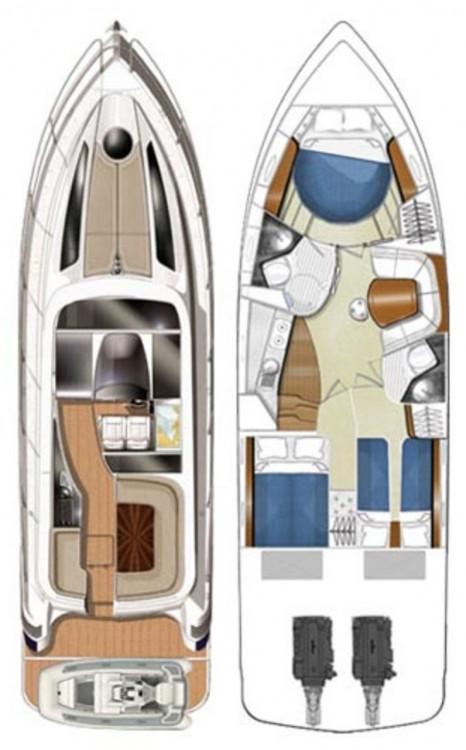 Rent a Focus Motor Yachts Focus Power 44 Hard Top Općina Sukošan