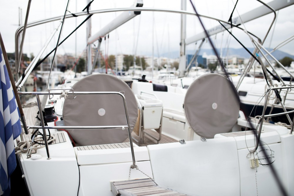 Jeanneau Sun Odyssey 409 between personal and professional Peloponnese