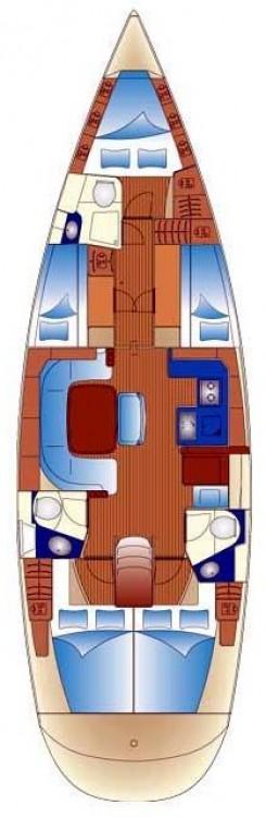 Boat rental Trogir cheap Bavaria 49