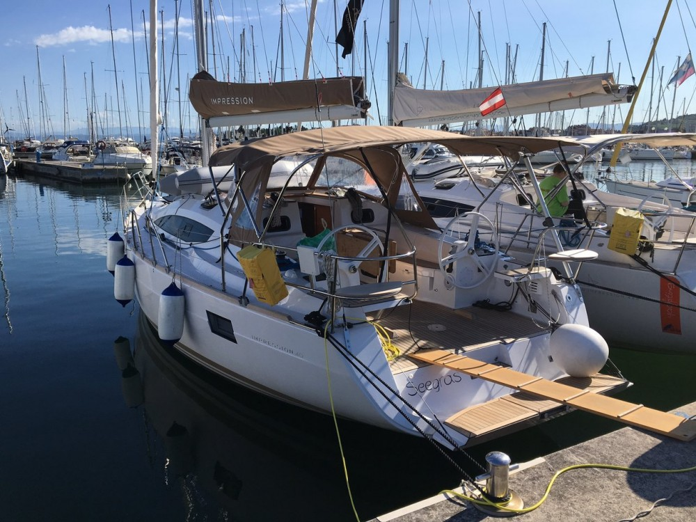Hire Sailboat with or without skipper Elan Izola / Isola
