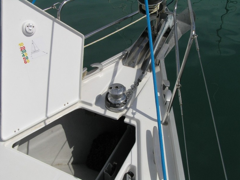 Boat rental Trogir cheap Cyclades 43