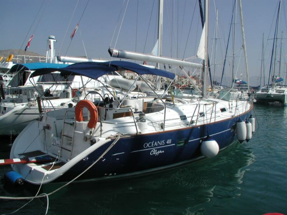 Boat rental Bénéteau Oceanis in Trogir on Samboat