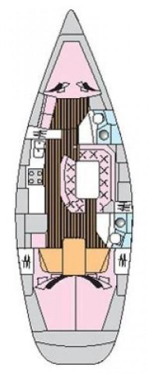 Boat rental Jeanneau Sun Odyssey 42.2 in Trogir on Samboat