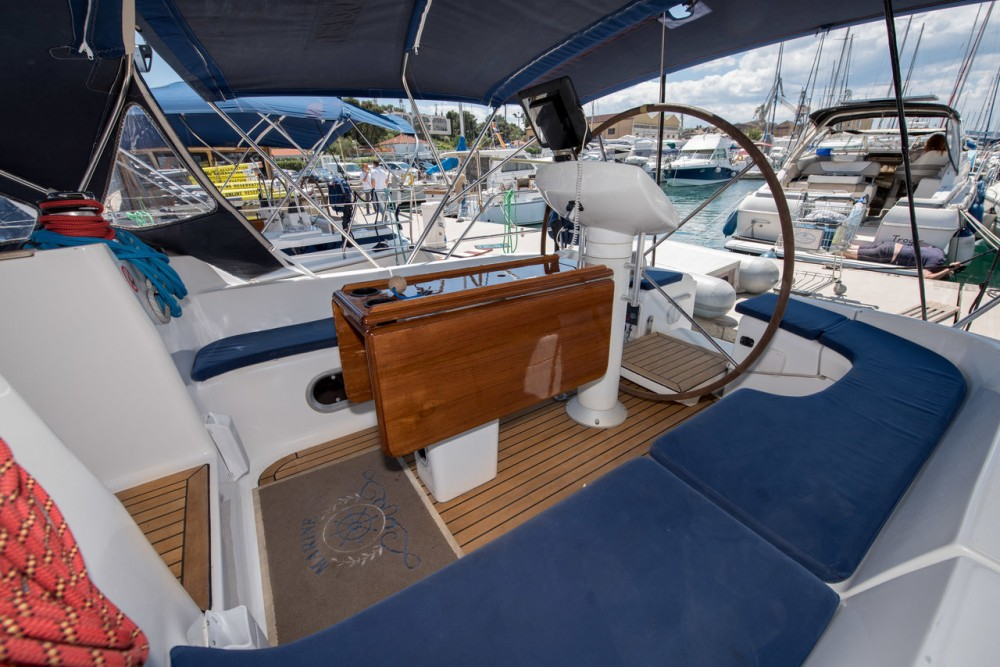 Jeanneau Sun Odyssey 42.2 between personal and professional Trogir