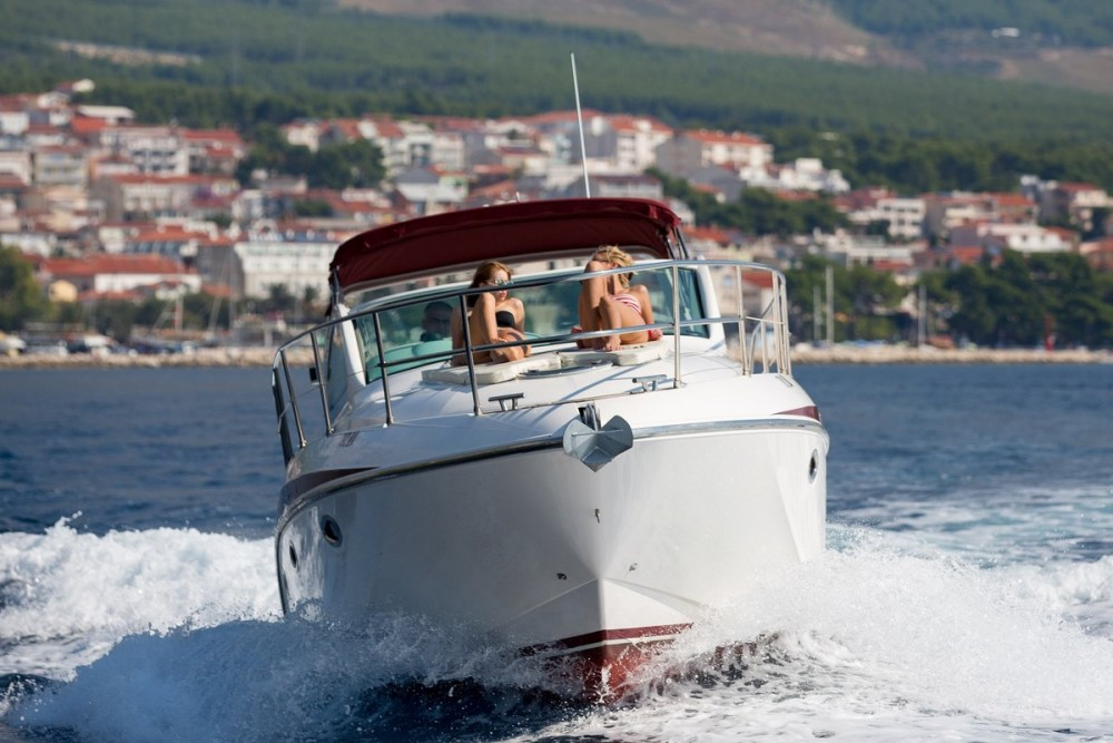 Hire Motorboat with or without skipper Pearl-Sea-Yachts-Doo Baška Voda